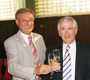 OB Schlumberger und Dr. Rüdiger Stihl