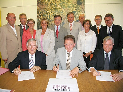 Gründungsstifter der Bürgerstiftung Remseck